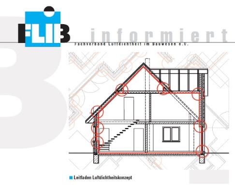 FLIB Leitfaden Luftdichtigkeitskonzept BlowerDoor Beratung kaufen mieten leasen